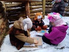 Зимний семейний лагерь в Зеленом городке